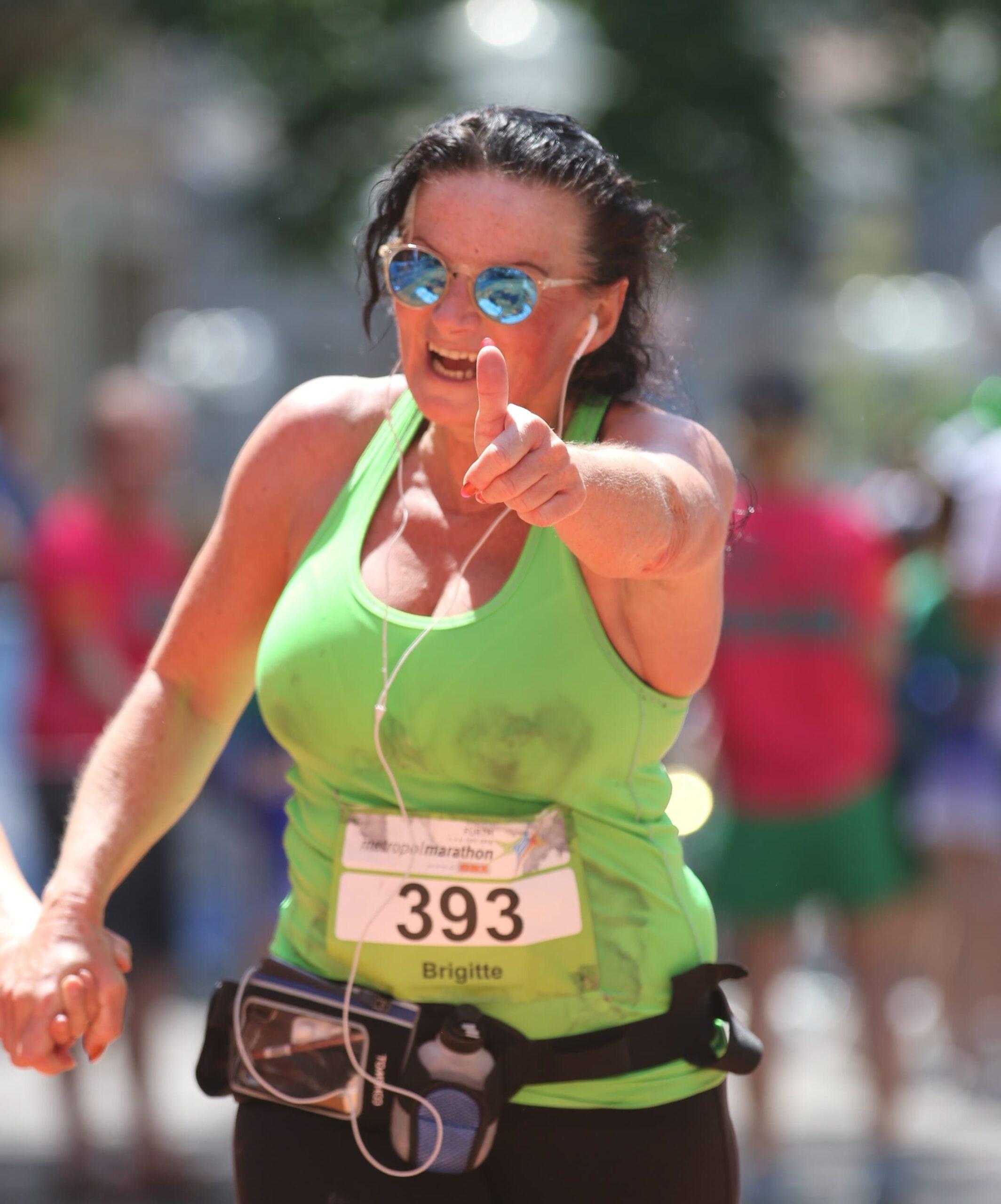 Brigitte Weber Halbmarathon Fuerth