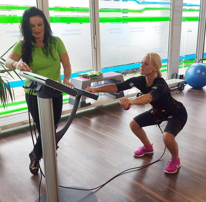 EMS Training mit Brigitte Weber