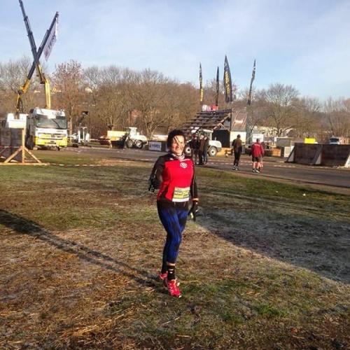 Teilnehmer Brigitte Weber beim Getting Rough Race